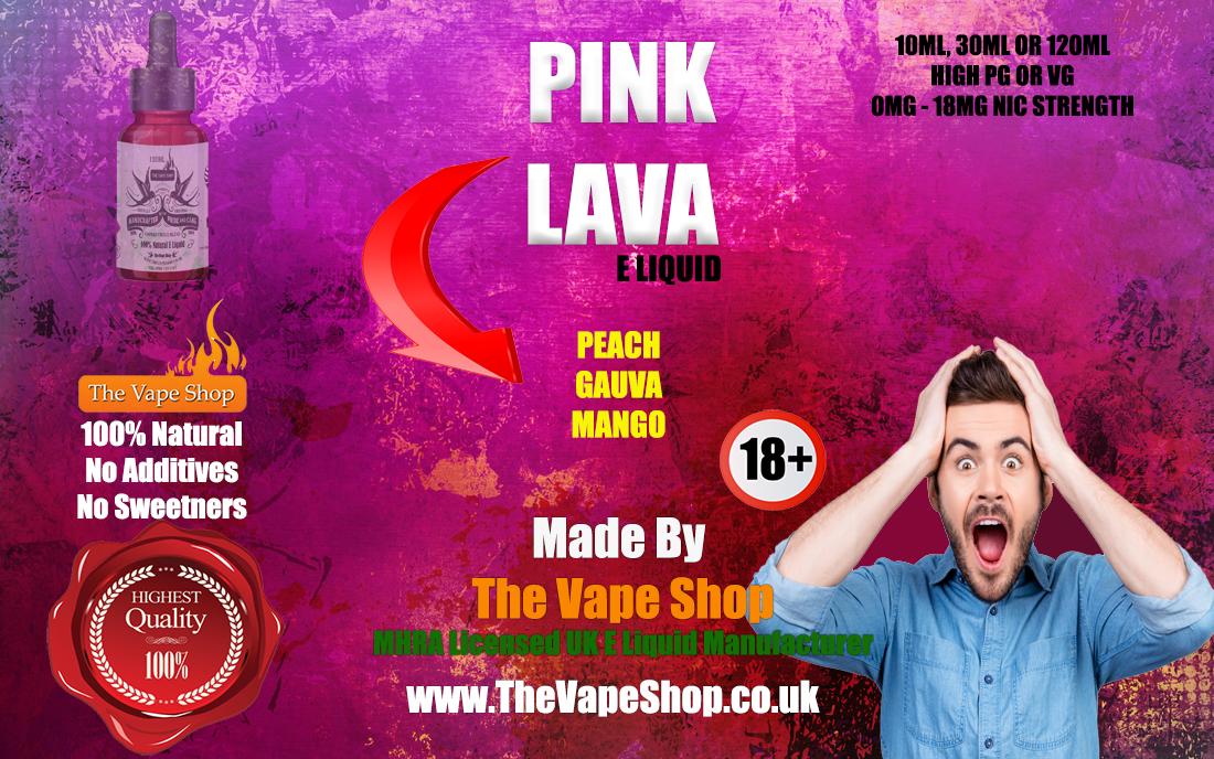 Pink Lava E Liquid
