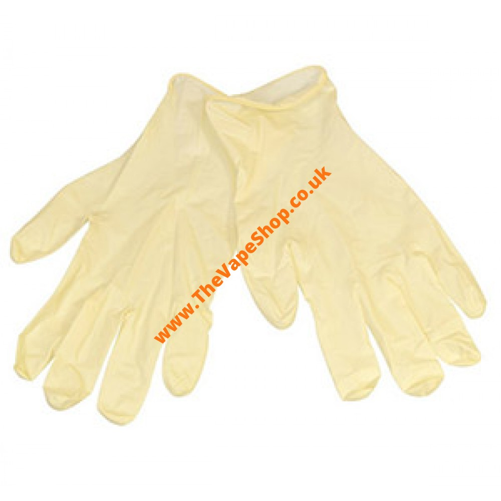 Latex Gloves Powder Free (Pack of 20 Size L )