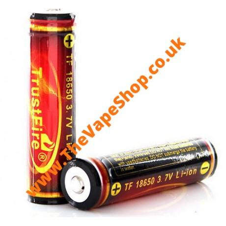 6 x 3000mAH 18560 Trustfire Batteries