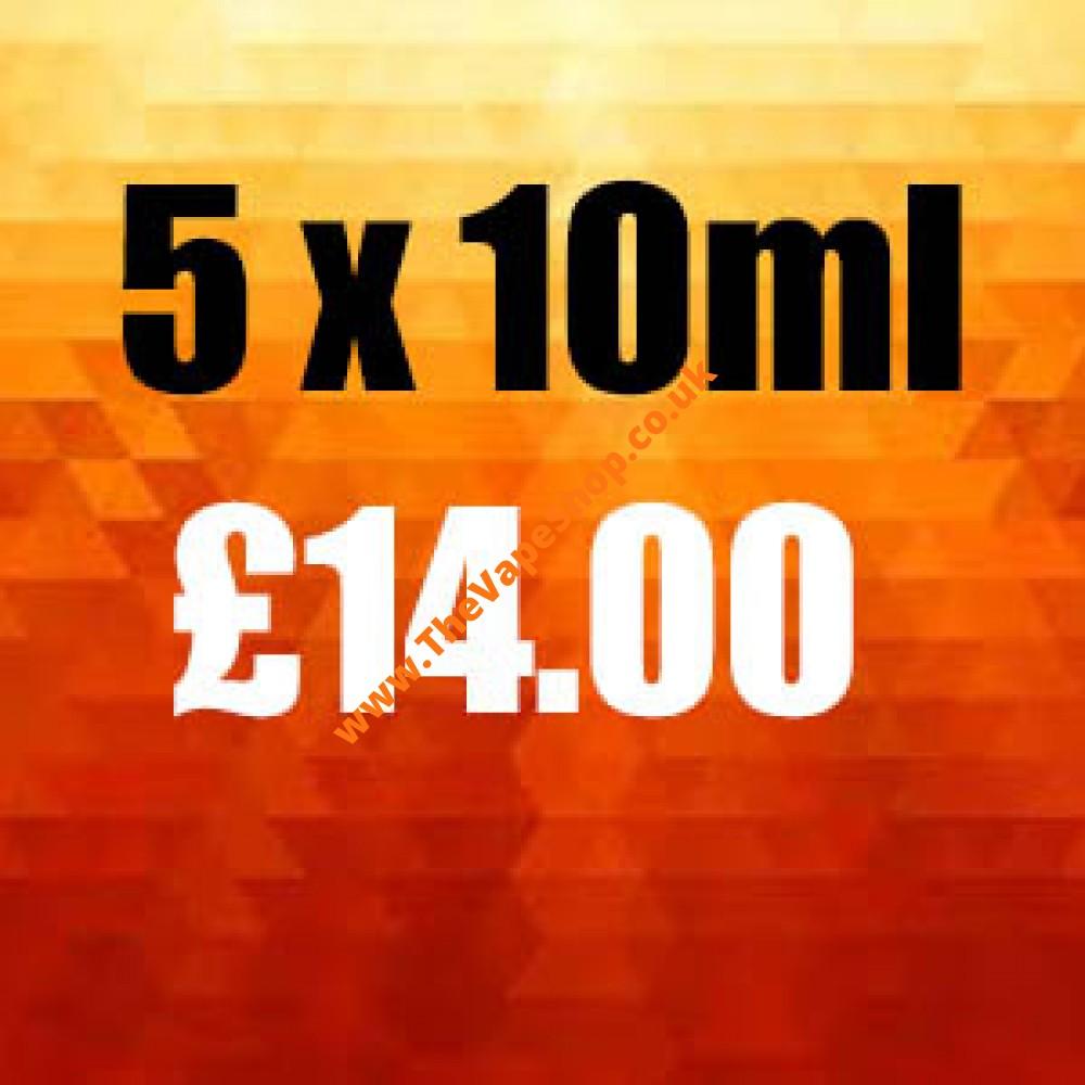 5 x 10ml Multi Pack