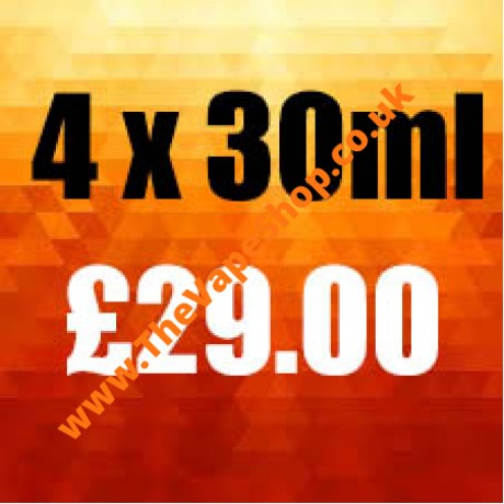 4 x 30ml Multi Pack