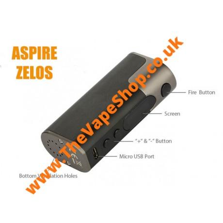 Aspire Zelos 50W Mod