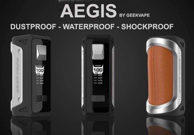 Geekvape Aegis 100W Review