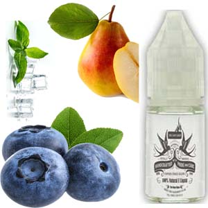 Blue Pear E Liquid - Blueberry, Pear & Menthol E Juice