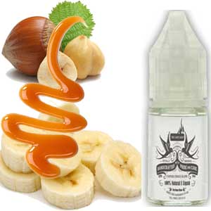 Carbanut Caramel, Nuts & Banana E Liquid