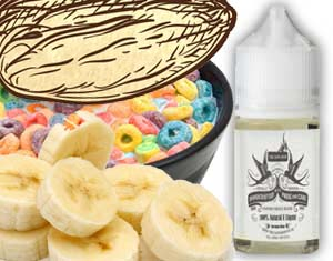 Cerebral Banana, Cereal, Milk & Almond E Liquid