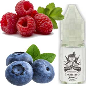 Red & Blue - Raspberry and Blueberry E Liquid