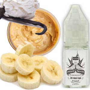 Vanarama Ice Cream, Vanilla, Peanut Butter and Banana E Liquid