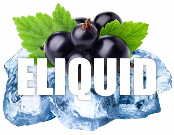 Blackcurrant Menthol E Liquid