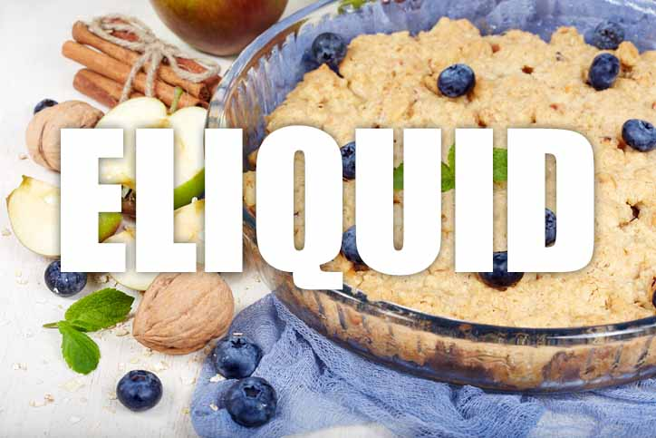 Blueberry Cinnamon Crumble E Liquid