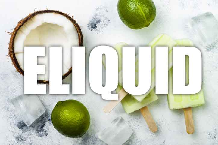 Coconut & Lime Ice Cream E Liquid
