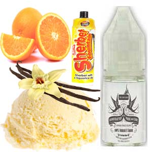 Orange Orbit E Liquid
